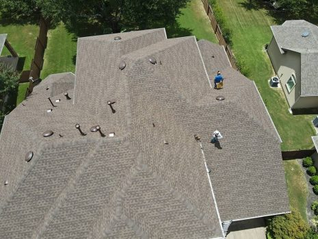 Transcendent Roofing Project
