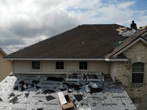 Roof Repairs Taking Place In San Antonio