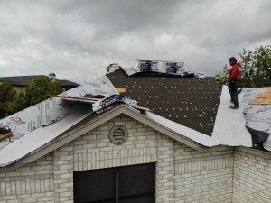Bulverde Roof In Progress