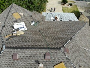 Roof Installation In Progress In Helotes