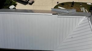Metal Roofing Project In Schertz