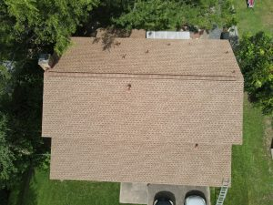 Completed Roof Installation In Converse