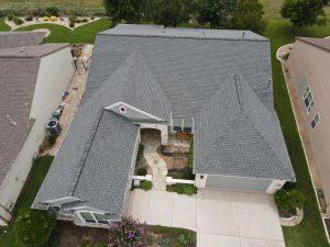 Completed Roof Installation In Schertz